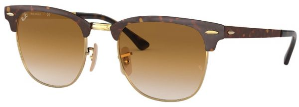 5c0fe16811c Ray-Ban Unisex Clubmaster Sunglasses - RB3716 900851 51-21-145mm ...