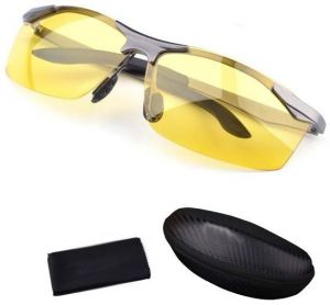 86fb130c4a Anti-glare Day Night Vision Goggles Driving Polarized Sunglasses for men