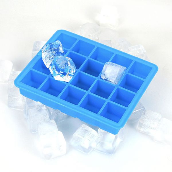 Silicone Ice Cube Chocolate Candy Baking and Craft Mold  25 Square Holes
