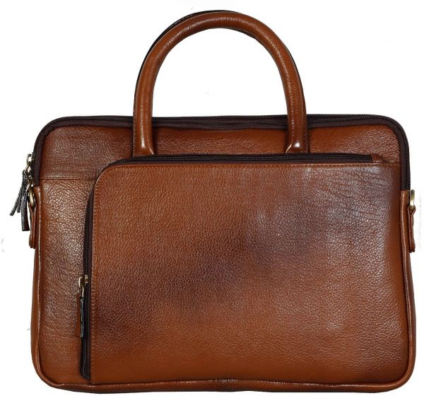 """Bag Jack® - Our """"Centauri : Equi-Scuto Belgium"""" handcrafted messenger is a thoroughly practical choice tan color leather laptop bag."""