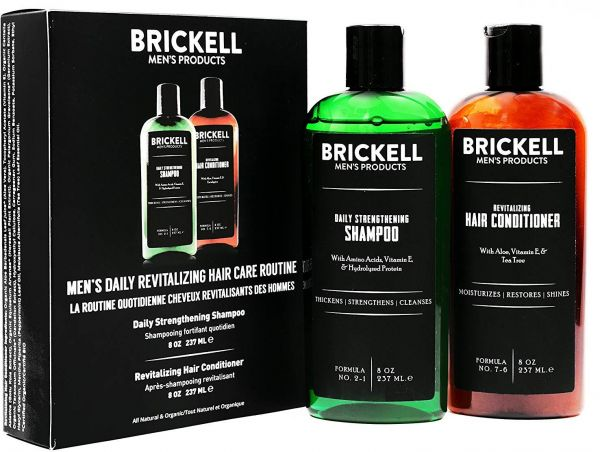 22a9a243dca Brickell Men s Daily Revitalizing Hair Care Routine - Mint   Tea ...