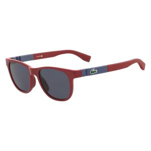 d100afabf92 Lacoste Square Sunglasses for Kids - Grey Lens