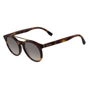 8a1800cfdfa9 Lacoste Round Unisex Sunglasses - Brown Lens