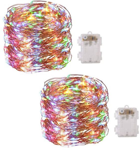 Enjoyable 2 Pack String Lights Copper Wire Light Fairy Lighting Lamp Wiring Digital Resources Operpmognl
