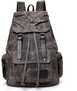 b9c72fff80ae Large-capacity backpack female leisure travel bag men s backpack outdoor  travel sports canvas men s bag-XSQ