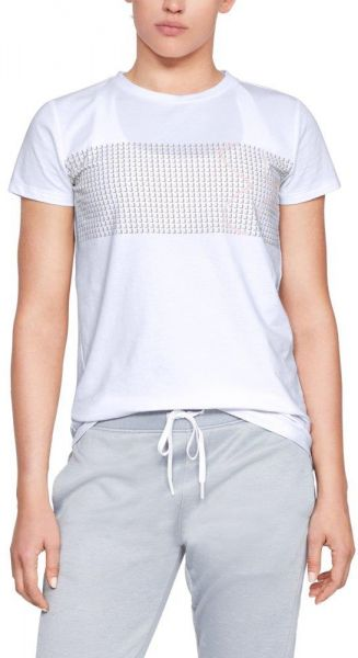 aed98184253 Under Armour Graphic Classic Crew Chest Logo T-Shirt For Women ...