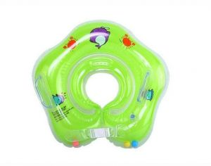 Swim Rings Baby Accessories Swim Neck Ting Baby Inflatable Tube Ring Safety Infant Neck Float Circle Baby Bathing 0-3years