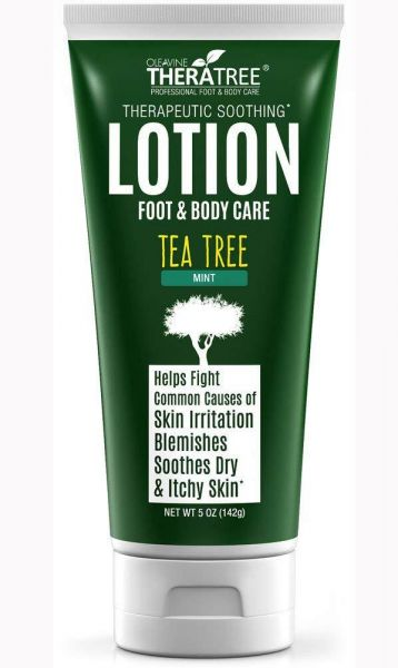 Tea Tree Oil Lotion with Neem Oil for Foot & Body - Helps Fight
