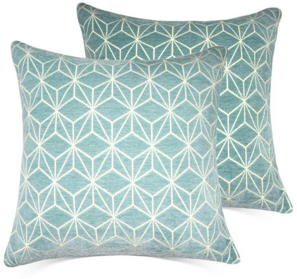 Throw Pillow Covers 20x20 Inch Cushion Pillow Cases Set Of 2 White