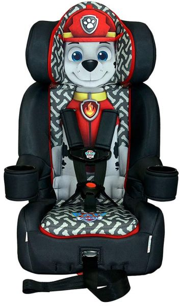 Kids Embrace Paw Patrol Marshall High Backed Booster Car Seat