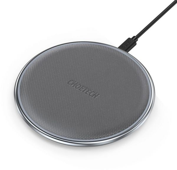 Fast Charge Wireless Charging Pad Compatible Ultra-Slim Wireless Charger 5W Qi-Enabled Phones
