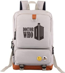 BBC Doctor Who Symbol designer Laptop Travel fits 17 inch Laptop canvas  Backpack for Women  fb92fcbf76dfc
