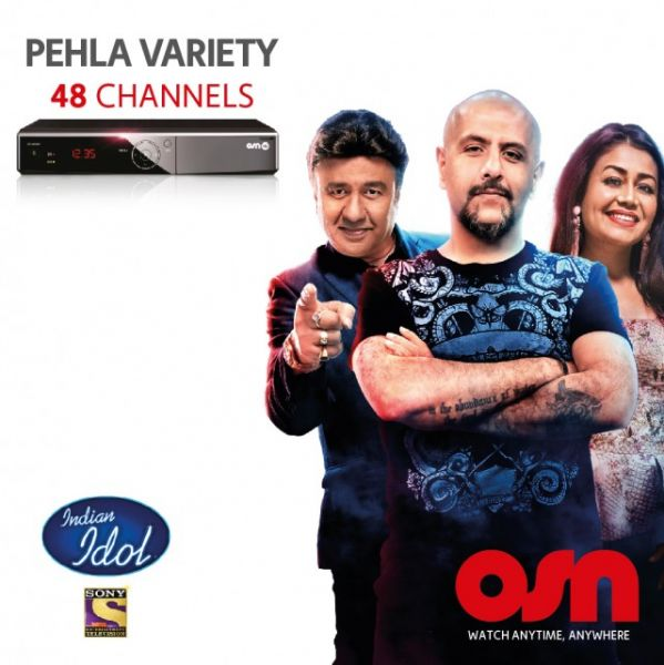 Osn Satellite Receiver And Pehla Variety 12 Months Package