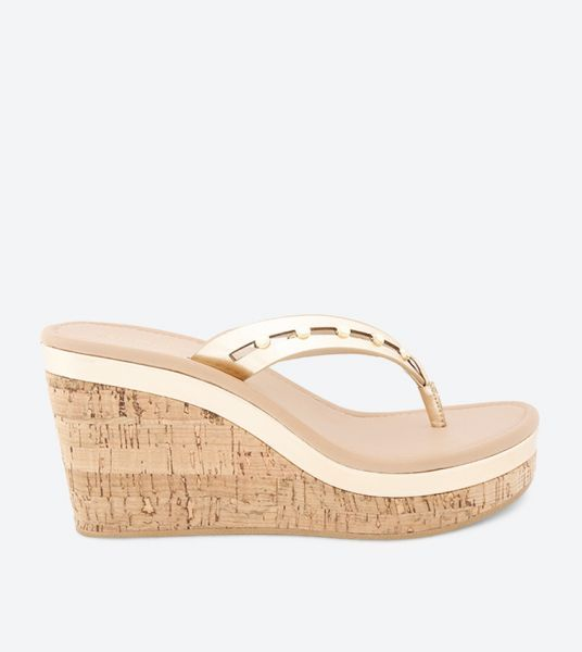 8815cf8a1949 Aldo Wedge Sandals for Women - Gold