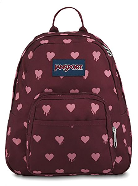 ed840a4c0957 Jansport Half Pint School Backpack For Unisex - Burgandy Rose