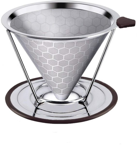 Honeycombed Stainless Steel Coffee