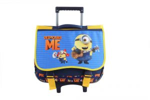 Minions Kids  Rolling School trolley Backpack for 3-12years old d1fbdf50617a2