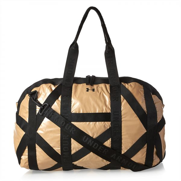 Buy Under Armour Sport Duffle Bag for Women - Gold in UAE 5429fce836afb