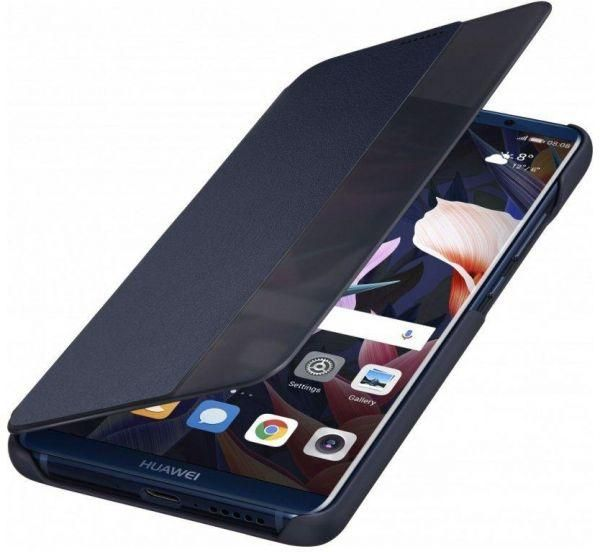 low priced 98918 365d6 2018 Huawei P20 Pro Smart View Flip cover Case Dark Blue