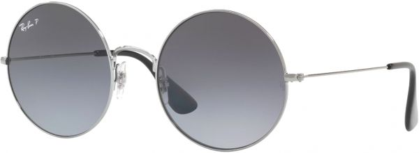 Ray-Ban Unisex Round Sunglasses - RB3592 004/T355 - 55-20-145 mm