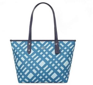 Coach Bag For Women Blue Tote Bags