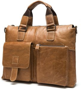 Leather men s tote top layer briefcases leisure computer bags Portable  carry tote bag leisure bag Student lover bags tablet bags travel bag Men s  cowhide ... 09149dcd96