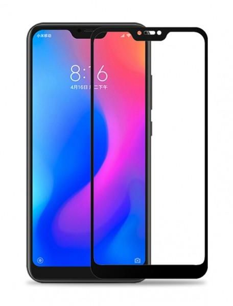 5D Tempered Glass for Xiaomi Redmi 6 Pro & Mi A2 Lite Full Screen Protector  - Black Frame