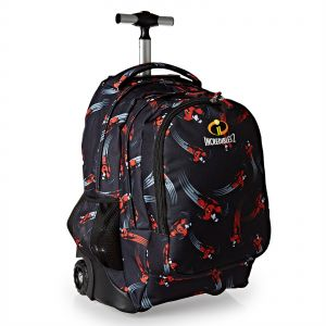 The Incredibles School Trolley Bag For Boys Black