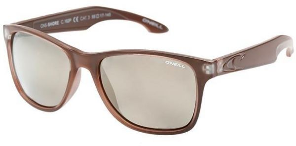 O'Neill Men's Polarized Sunglasses- brown/silver -ONSHORE-162P- size 54-17-140mm