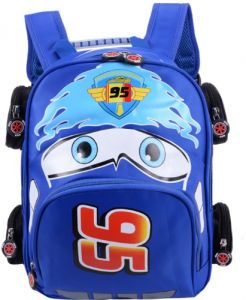 6eeed9c6f8dc Fashion Children School Bags Cartoon Car Backpack Toddler kids Book Bag  Kindergarten Boy Backpacking