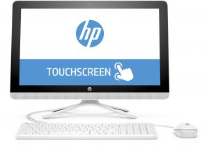 HP 22-c0003ne All-in-One Desktop -Intel Core i5-8250U, 21.5-Inch FHD Touch, 1TB, 8GB, 2GB VGA-MX110, Eng-Arb-KB, Windows 10, White