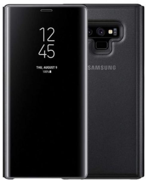 info for b38c3 a24a2 Samsung Galaxy Note 9 clear view standing cover case- black