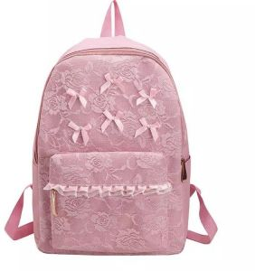 0fdf7255556eb Backpack with lace - Pink