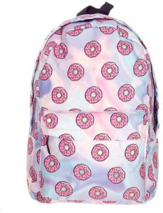 403390b7ba8 15.6inch Waterproof Oxford Cloth Backpack Food Donut Bag Travel Backpack 3D  Printing Girls and Women Casual School Backpacks Outdoor and Indoor Travel  Sport ...