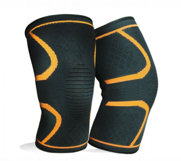 ba4ba83526 1 Pair Knee Brace Support Compression Sleeves Wraps Pads for Arthritis  Running Pain Relief Injury Recovery BasketBall/FootBall | Souq - UAE