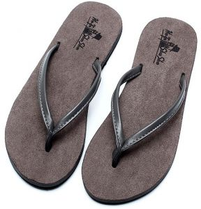 8287b4c36da2af Flip-flop unisex summer slip sandals couple beach shoes Europe and America  toe suede men and women Heel Casual slippers