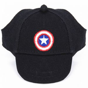 9b4c59c34ff Captain America Sun Hat For Dogs Cute Pet Casual Cotton Baseball Cap  Chihuahua Pet Products