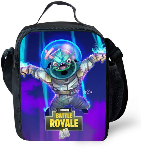 FORTNITE Lunch bag Sack lunch Outdoor Picnic Campus Student Children lunch tote Handbag | السعودية | سوق