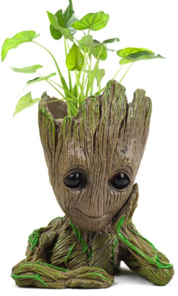 Guardians of the Galaxy Groot Flowerpot Groot Pen container Lovely potted plants