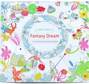 English Secret Garden Coloring Books For Adults Kids Relieve Stress Kill Time Graffiti Painting Book With 24 Color Pencil