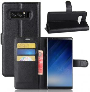 size 40 da8d9 709a1 Buy samsung galaxy note 7 led flip wallet cover black 11382748 ...