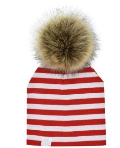 bf5376e57ed Children Hat Toddler Kids Baby Warm Winter Wool Hat Knit Beanie Fur Pom Pom Hat  Baby Boys Girls Cap mm