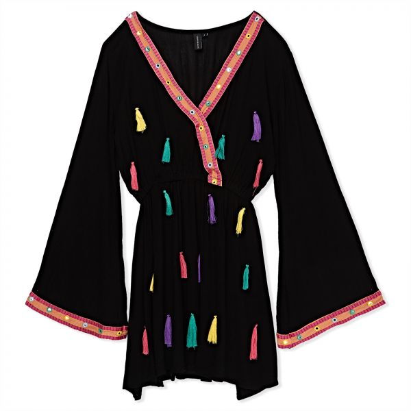 South Beach Dress For Women Black