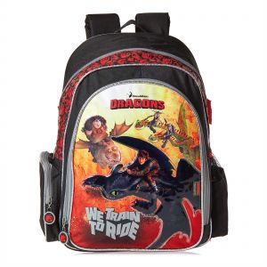 1eb21898913d Dreamworks Dragons School Backpack for Boys - Multi Color