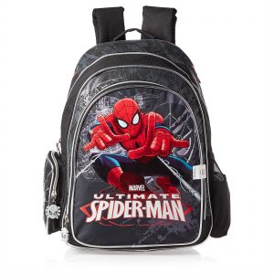 12653a51cee6 Marvel Spiderman School Backpack for Boys - Black