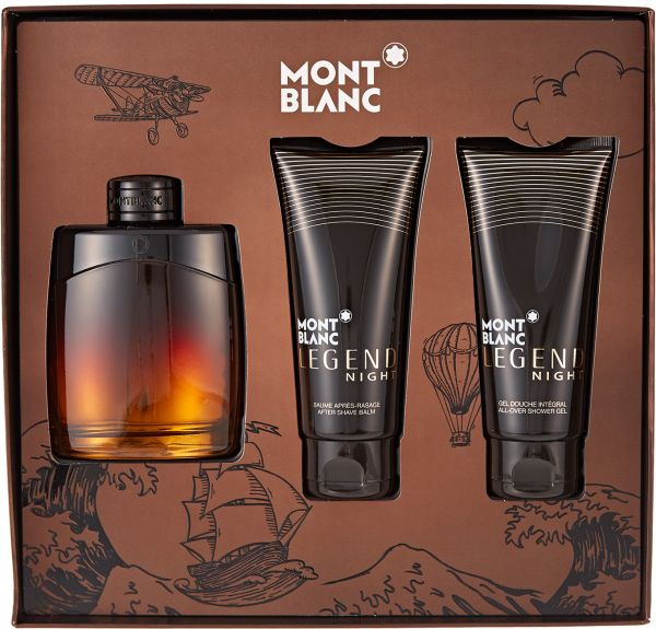 a6026ea2f سعر Legend Night by Mont Blanc for Men - Assorted Fragrances, 3 ...