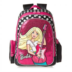 Mattel Barbie School Backpack for Girls - Pink 823895c92bd6f