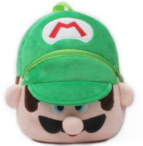 Kids Leash Bags Toddler Plush Backpack with Safety Harness Playful  Preschool Kids Snacks Bag for Little Children(0-36Mouth) Green Super Mario 5a7c67ae3c3