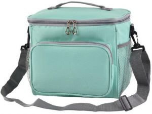 Green Lunch Box Insulated Lunch Bag Large Cooler Tote Bag for  Adult 65a7e3864d0da