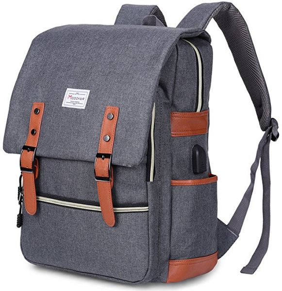 Travel Laptop Backpack Anti-Theft 15.6 Inch Laptop Water Resistant USB Port